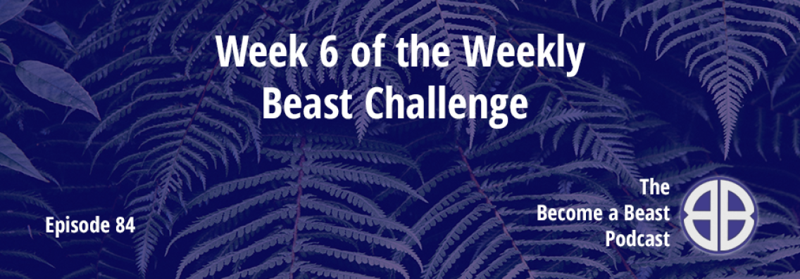 BAB 084 | Week 6 of The Weekly Beast Challenge